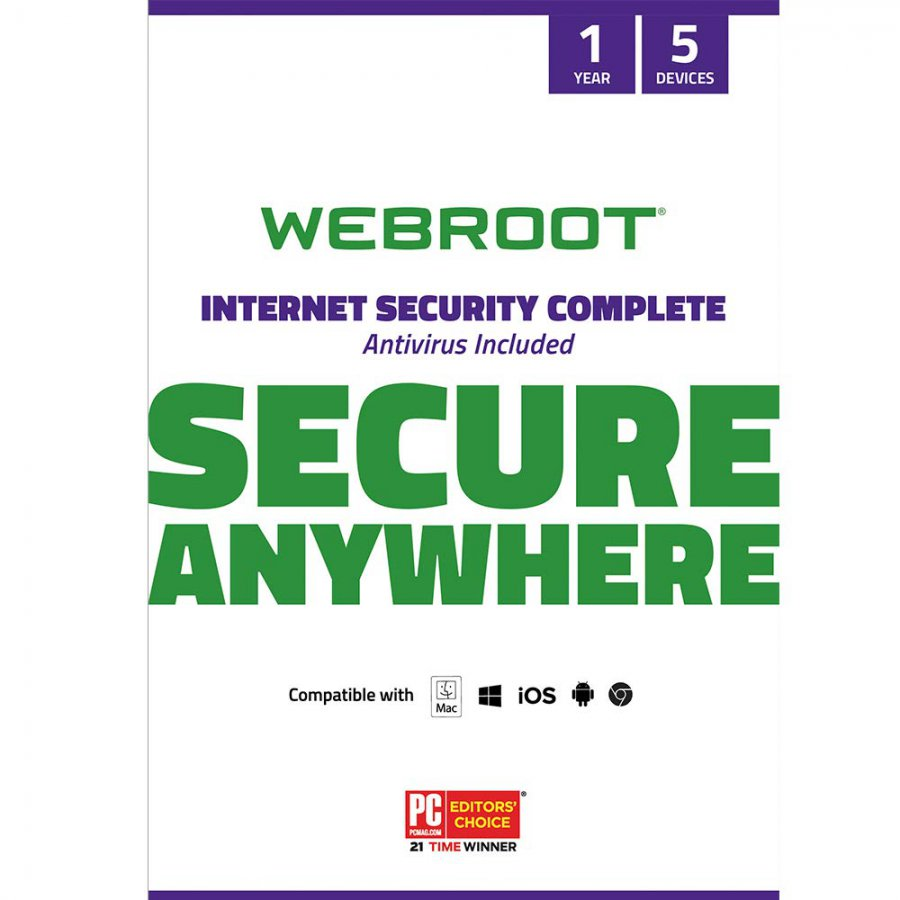 Shop Webroot Internet Security Complete With Antivirus